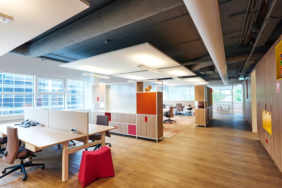 Hoofdkantoor Blokker - Kek Bv interieurbouw Den Bosch