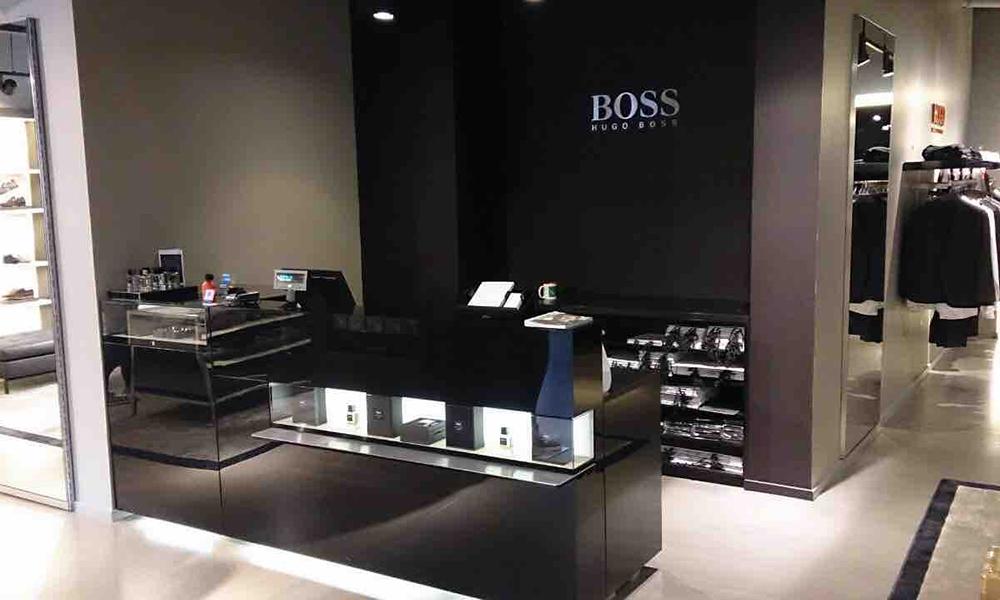 Hugo Boss - Kek Bv interieurbouw Den Bosch