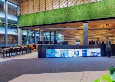 Entreegebied kantoor – Den Haag